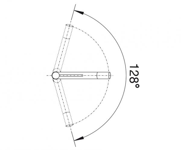 Blanco Alta-S Compact 520730 Eenhendel Keukenkraan Met Uittrekbare Handdouche Silgranit Look Parelgrijs