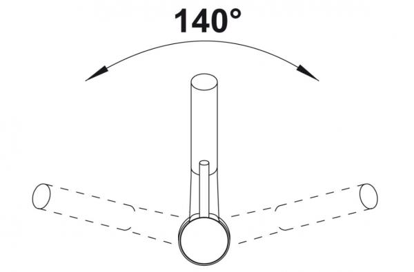 Blanco Antas-S 516764 Eenhendel Keukenkraan Met Uittrekbare Handdouche Voor Lage Druk  Chroom