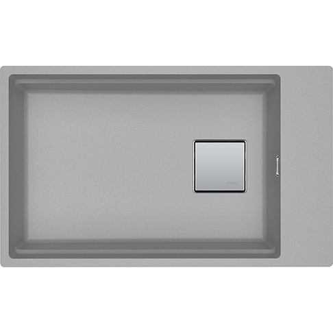 Franke Spoelbak Fragranite Kng 110-62 Stone Grey 125.0512.518 Onderbouw Spoelbak