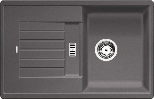Blanco Zia 45 S 518937 Spoelbak Silgranit Rotsgrijs Omkeerbaar Onderbouw Of Opbouw