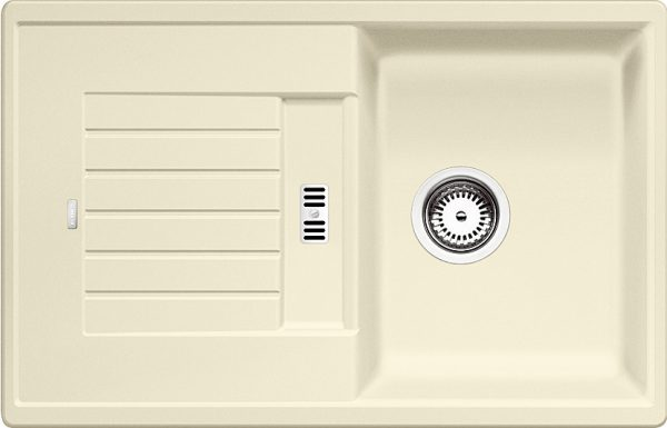 Blanco Zia 45 S 514727 Spoelbak Silgranit Jasmijn Omkeerbaar Onderbouw Of Opbouw