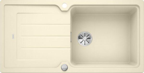 Blanco Classic Neo Xl 6 S 524132 Spoelbak Silgranit Jasmijn Inclusief Draaiknopbediening Omkeerbaar Opbouw