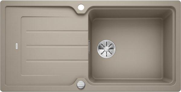 Blanco Classic Neo Xl 6 S 524134 Spoelbak Silgranit Tartufo Inclusief Draaiknopbediening Omkeerbaar Opbouw