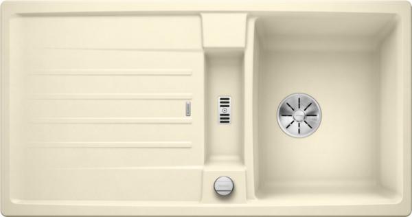 Blanco Lexa 5 S 524925 Spoelbak Silgranit Jasmijn Inclusief Draaiknopbediening Omkeerbaar Onderbouw Of Opbouw