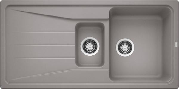 Blanco Sona 6 S 519854 Spoelbak Silgranit Aluminium Metallic Omkeerbaar Onderbouw Of Opbouw