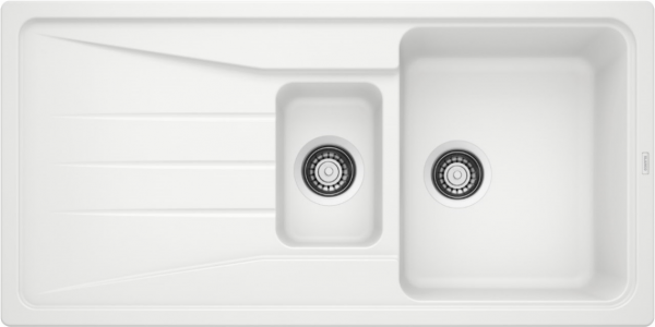 Blanco Sona 6 S 519855 Spoelbak Silgranit Wit Omkeerbaar Onderbouw Of Opbouw