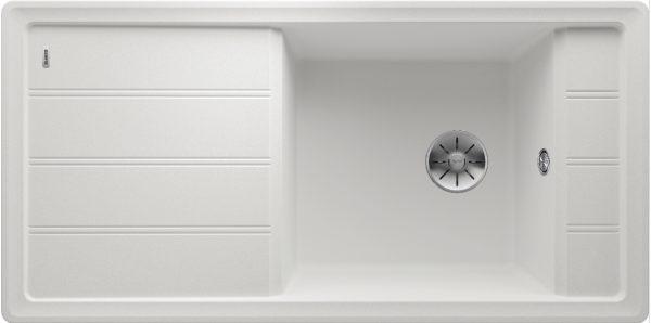Blanco Faron Xl 6 S 524807 Spoelbak Silgranit Wit Omkeerbaar Onderbouw Of Opbouw