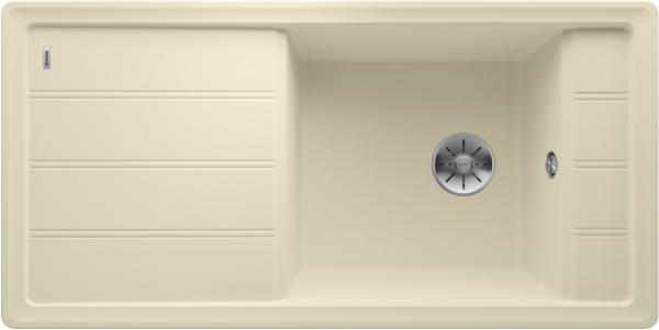 Blanco Faron Xl 6 S 524808 Spoelbak Silgranit Jasmijn Omkeerbaar Onderbouw Of Opbouw