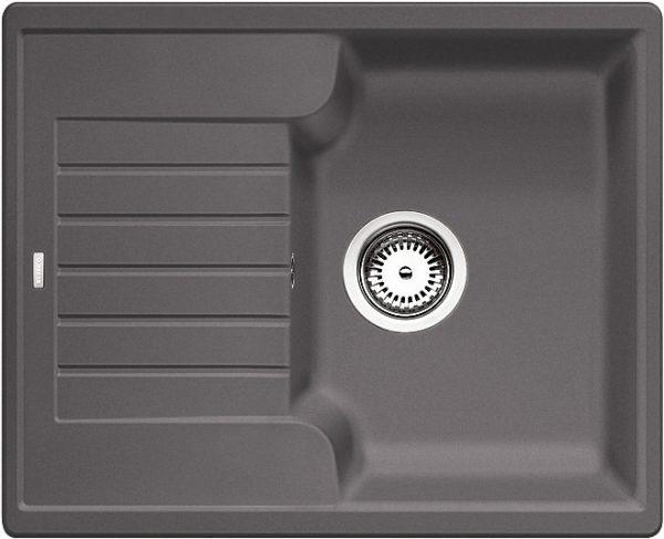 Blanco Zia 40 S 518932 Spoelbak Silgranit Rotsgrijs Omkeerbaar Onderbouw Of Opbouw