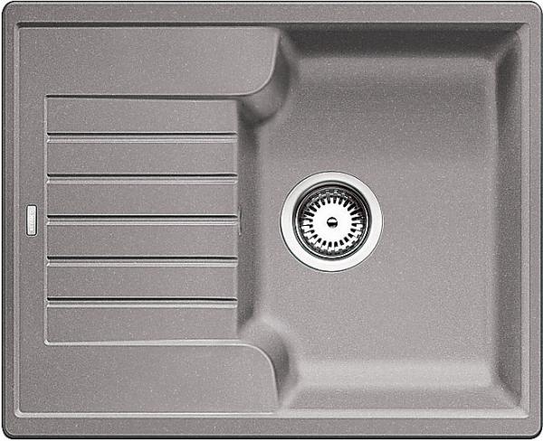 Blanco Zia 40 S 516919 Spoelbak Silgranit Aluminium Metallic Omkeerbaar Onderbouw Of Opbouw