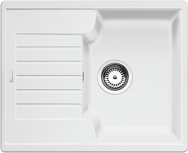 Blanco Zia 40 S 516922 Spoelbak Silgranit Wit Omkeerbaar Onderbouw Of Opbouw