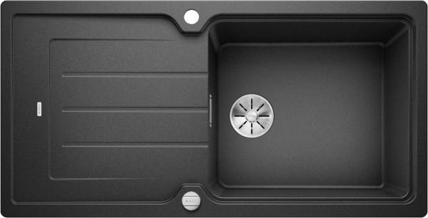 Blanco Classic Neo Xl 6 S 524127 Spoelbak Silgranit Antraciet Inclusief Draaiknopbediening Omkeerbaar Opbouw