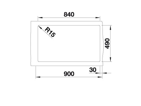 Blanco Naya Xl 9 521816 Spoelbak Silgranit Wit Onderbouw Of Opbouw