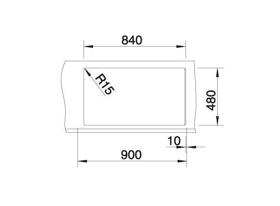 Blanco Metra 9 520586 Anderhalve Spoelbak Links Silgranit Parelgrijs Onderbouw Of Opbouw