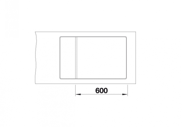 Blanco Elon Xl 6 S-F 524854 Spoelbak Silgranit Antraciet Inclusief Draaiknopbediening Inclusief Rooster Omkeerbaar Vlakbouw