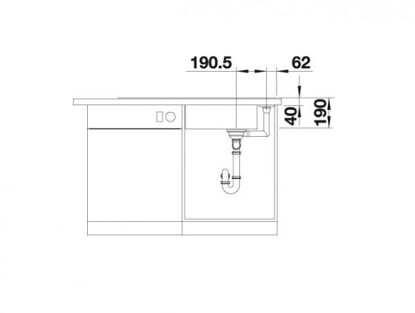 Blanco Axia Iii Xl 6 S 523510 Spoelbak Silgranit Antraciet Inclusief Glazen Snijplank Omkeerbaar Onderbouw Of Opbouw