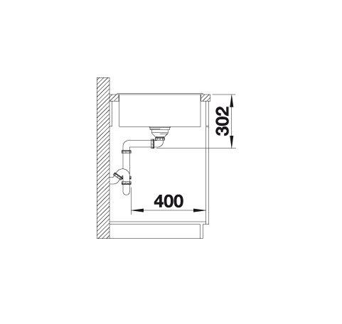 Blanco Axia Iii Xl 6 S 523500 Spoelbak Silgranit Antraciet Inclusief Houten Snijplank Omkeerbaar Onderbouw Of Opbouw