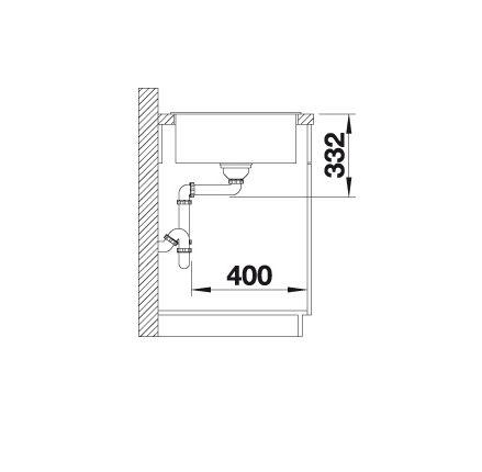 Blanco Zia 5 S 520502 Spoelbak Silgranit Antraciet Inclusief Draaiknopbediening Omkeerbaar Onderbouw Of Opbouw