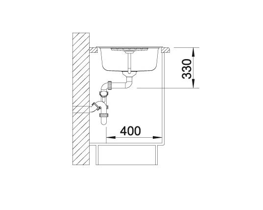 Blanco Zia 45 S 514732 Spoelbak Silgranit Antraciet Omkeerbaar Onderbouw Of Opbouw