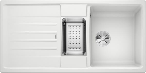 Blanco Lexa 6 S 524944 Spoelbak Silgranit Wit Inclusief Accessoires Omkeerbaar Onderbouw Of Opbouw