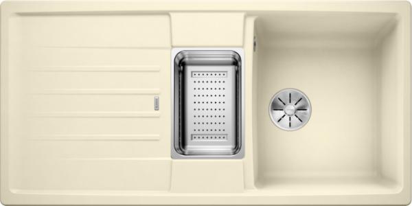 Blanco Lexa 6 S 524945 Spoelbak Silgranit Jasmijn Inclusief Accessoires Omkeerbaar Onderbouw Of Opbouw