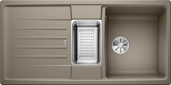 Blanco Lexa 6 S 524947 Spoelbak Silgranit Tartufo Inclusief Accessoires Omkeerbaar Onderbouw Of Opbouw