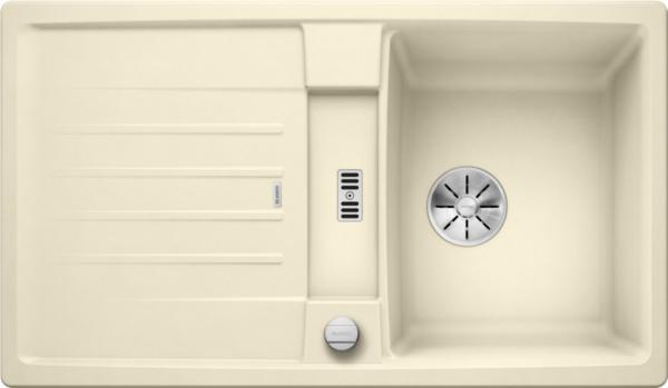 Blanco Lexa 45 S 524905 Spoelbak Silgranit Jasmijn Inclusief Draaiknopbediening Omkeerbaar Onderbouw Of Opbouw