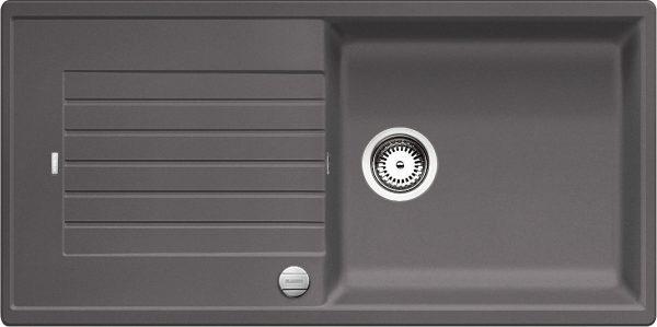 Blanco Zia Xl 6 S 518942 Spoelbak Silgranit Rotsgrijs Inclusief Draaiknopbediening Omkeerbaar Onderbouw Of Opbouw