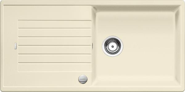 Blanco Zia Xl 6 S 517562 Spoelbak Silgranit Jasmijn Inclusief Draaiknopbediening Omkeerbaar Onderbouw Of Opbouw