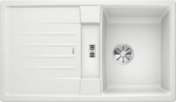 Blanco Lexa 45 S 524914 Spoelbak Silgranit Wit Omkeerbaar Onderbouw Of Opbouw
