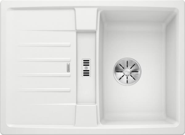 Blanco Lexa 40 S 524894 Spoelbak Silgranit Wit Omkeerbaar Onderbouw Of Opbouw