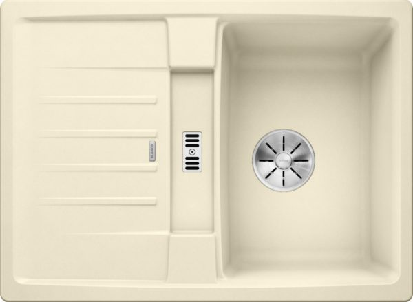 Blanco Lexa 40 S 524895 Spoelbak Silgranit Jasmijn Omkeerbaar Onderbouw Of Opbouw