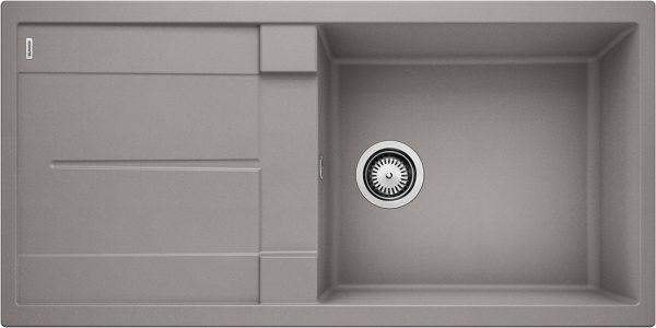 Blanco Metra Xl 6 S 515135 Spoelbak Silgranit Aluminium Metallic Omkeerbaar Onderbouw Of Opbouw