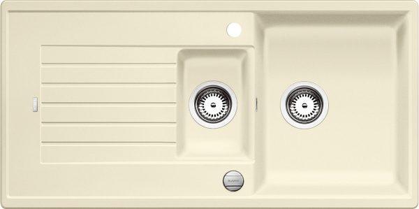 Blanco Zia 6 S 514735 Spoelbak Silgranit Jasmijn Inclusief Draaiknopbediening Omkeerbaar Onderbouw Of Opbouw