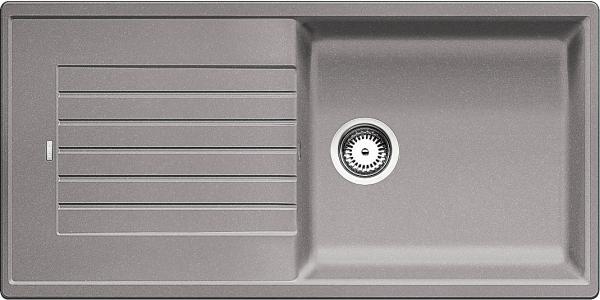 Blanco Zia Xl 6 S 517569 Spoelbak Silgranit Aluminium Metallic Omkeerbaar Onderbouw Of Opbouw
