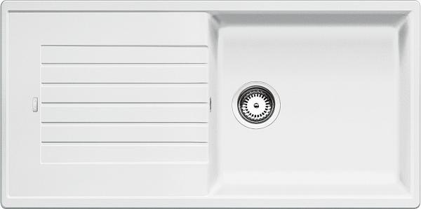 Blanco Zia Xl 6 S 517571 Spoelbak Silgranit Wit Omkeerbaar Onderbouw Of Opbouw