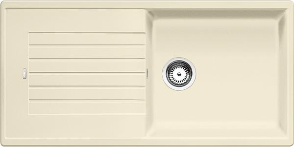 Blanco Zia Xl 6 S 517572 Spoelbak Silgranit Jasmijn Omkeerbaar Onderbouw Of Opbouw