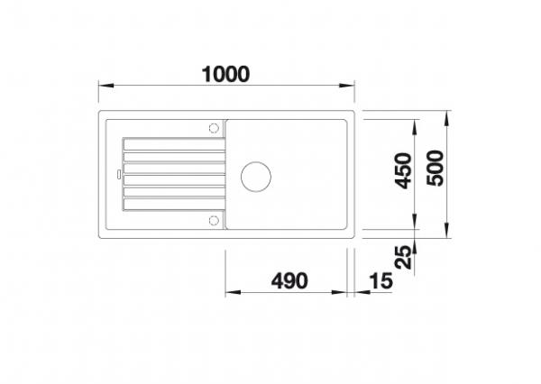 Blanco Zia Xl 6 S 520634 Spoelbak Silgranit Parelgrijs Inclusief Draaiknopbediening Omkeerbaar Onderbouw Of Opbouw