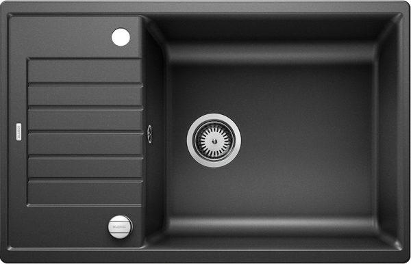 Blanco Zia Xl 6 S Compact 523263 Spoelbak Silgranit Antraciet Inclusief Draaiknopbediening Omkeerbaar Onderbouw Of Opbouw