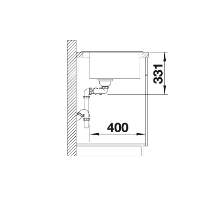 Blanco Pleon 6 Split 521690 Anderhalve Spoelbak Links Silgranit Rotsgrijs Onderbouw Of Opbouw