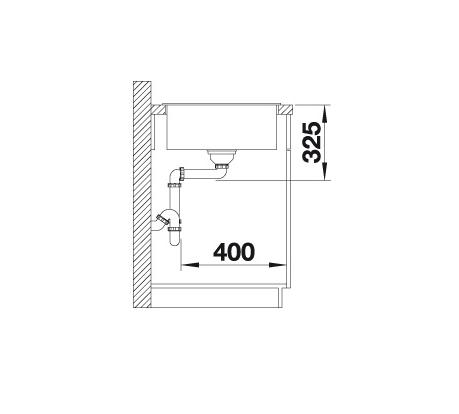 Blanco Zia Xl 6 S Compact 523277 Spoelbak Silgranit Wit Omkeerbaar Onderbouw Of Opbouw