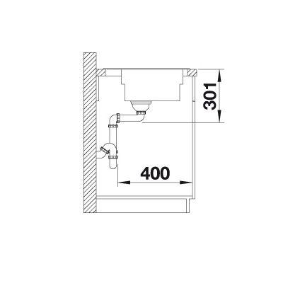 Blanco Zenar Xl 6 S Steamerplus 524076 Spoelbak Rechts Silgranit Wit Inclusief Draaiknopbediening Inclusief Glazen Snijplank Onderbouw Of Opbouw