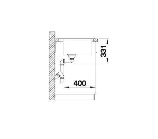 Blanco Pleon 6 521678 Spoelbak Silgranit Antraciet Onderbouw Of Opbouw