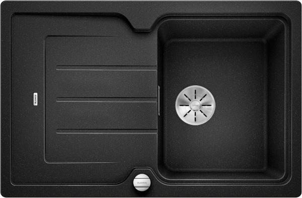Blanco Classic Neo 45 S 523995 Spoelbak Silgranit Antraciet Inclusief Draaiknopbediening Inclusief Snijplank Opbouw