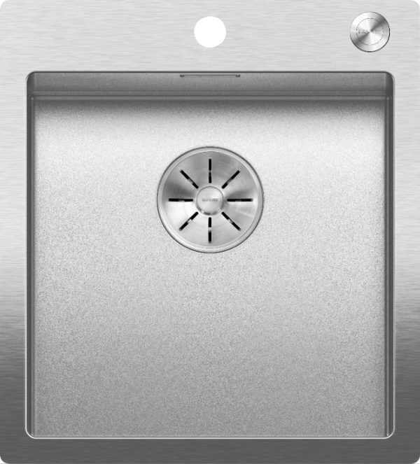 Blanco Claron 400-If/a Durinox 523392 Spoelbak Inclusief Pushcontrol Bediening Vlakbouw Of Opbouw