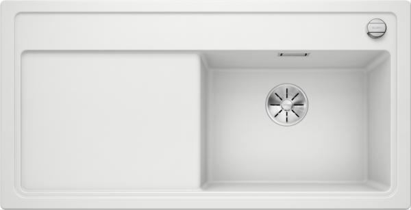 Blanco Zenar Xl 6 S 523968 Spoelbak Rechts Silgranit Wit Inclusief Draaiknopbediening Onderbouw Of Opbouw