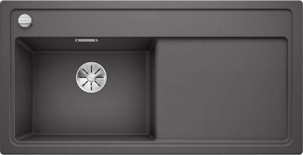 Blanco Zenar Xl 6 S 523996 Spoelbak Links Silgranit Rotsgrijs Inclusief Draaiknopbediening Onderbouw Of Opbouw