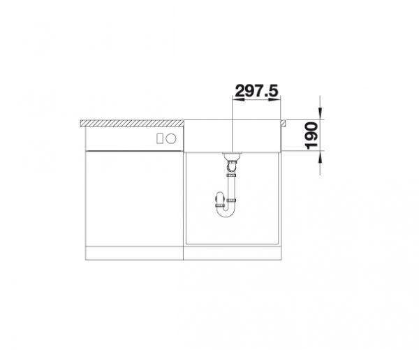 Blanco Cronos Xl 6-If 525025 Spoelbak Rvs Vlakbouw Of Opbouw