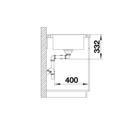 Blanco Lemis Xl 8-If 523172 Anderhalve Spoelbak Rvs Vlakbouw Of Opbouw