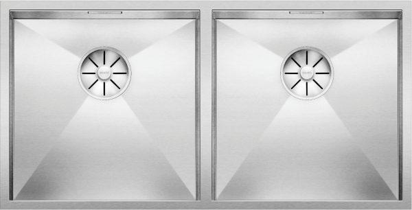 Blanco Zerox 400/400-U 521620 Dubbele Spoelbak Rvs Onderbouw